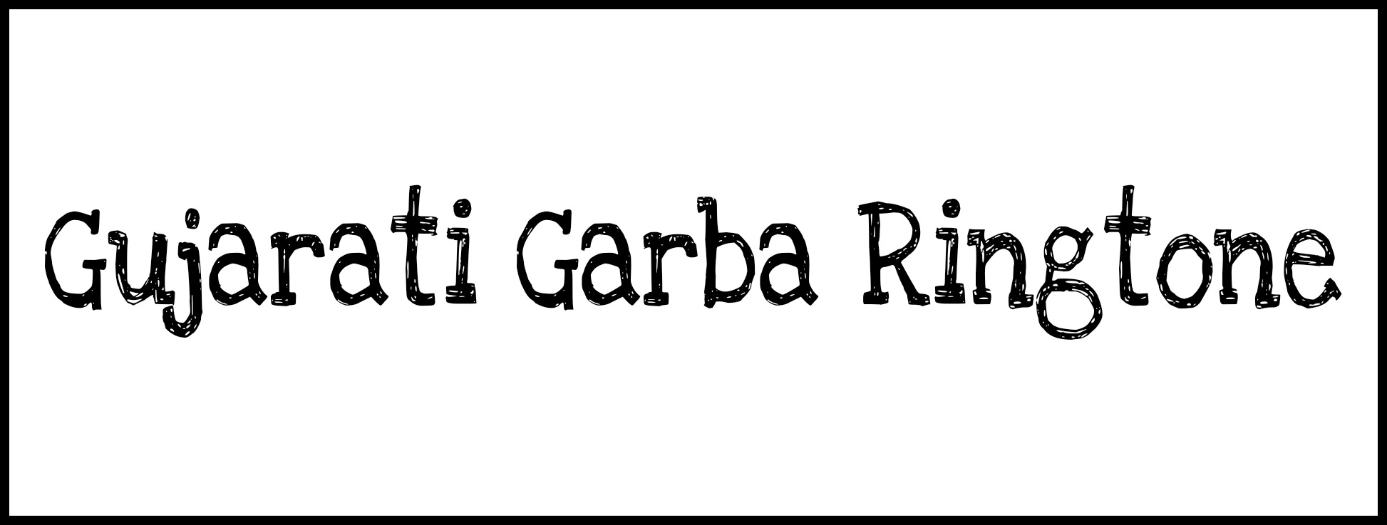 Gujarati Garba ringtone