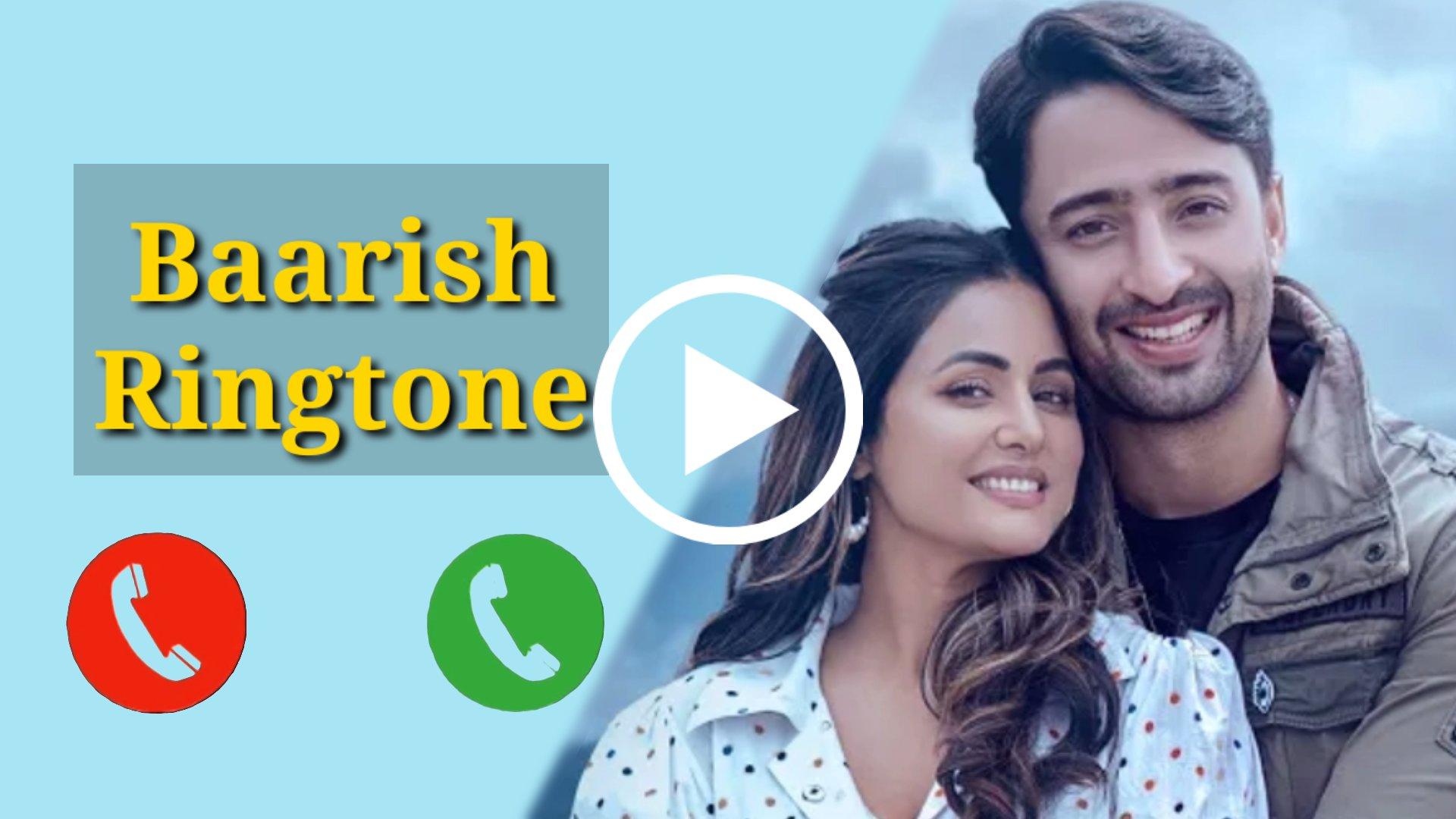Baarish Ban Jaana Mp3 Ringtone Download