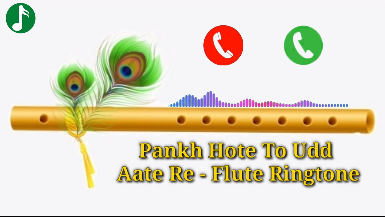 Pankh Hote To Ud Aate Re Flute Ringtone Download